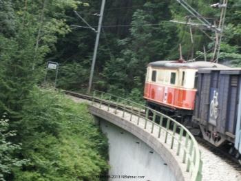 1099 auf der Bergstrecke der Mariazellerbahn