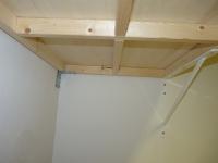 Unterbau / Rahmen - Wandbefestigung