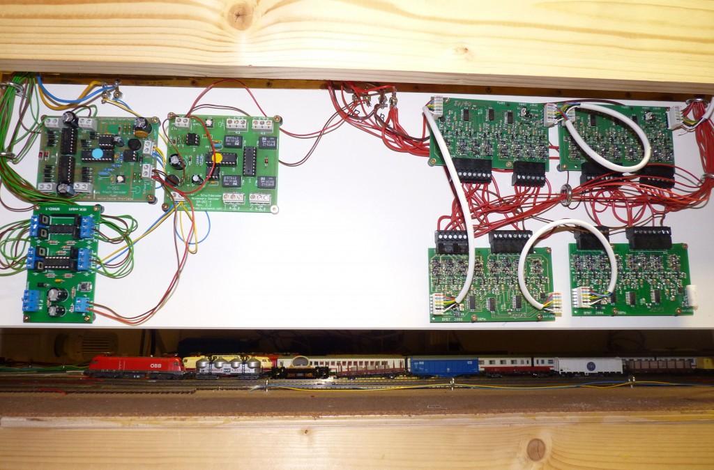 Klappbares Board mit Decodern / GBM